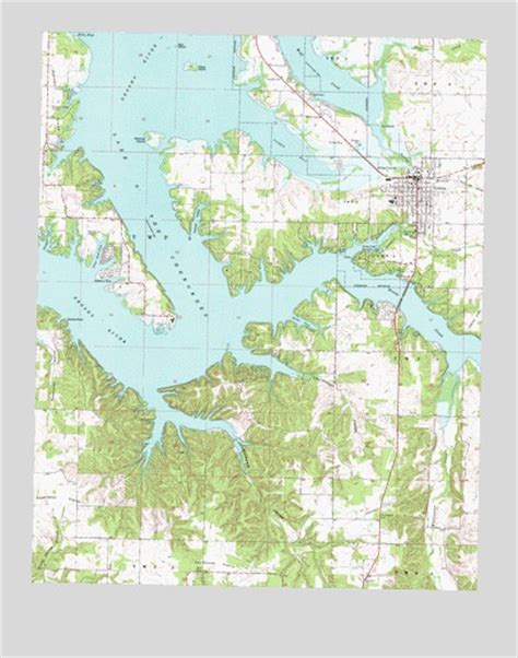 topographical map of oklahoma grove ok topographic map topoquest