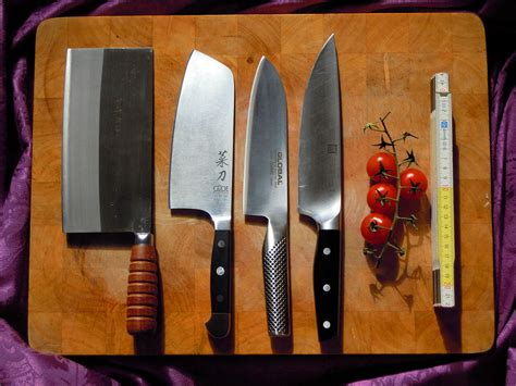 kitchen knives wiki file different chef knives jpg wikimedia commons