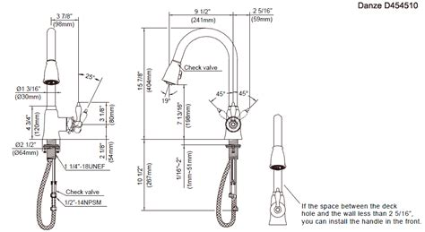 28 kitchen faucet connection size the replacing