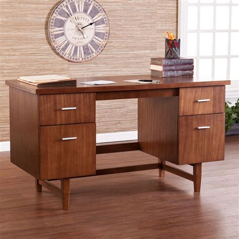 mid century modern desk furniture trends on a budget midcentury modern officefurniture com
