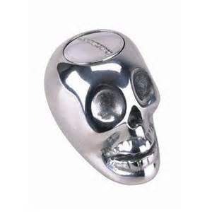 lokar sk 6863 skull 4 speed automatic shift knob