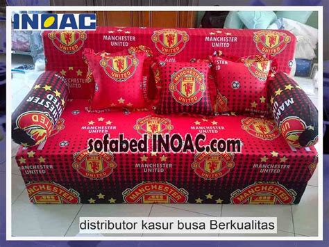 Jual Lu Tidur Manchester United spesialis sofabed inoac