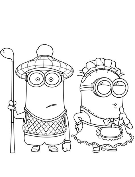 coloring pages minion stuart stuart minion coloring pages coloring home