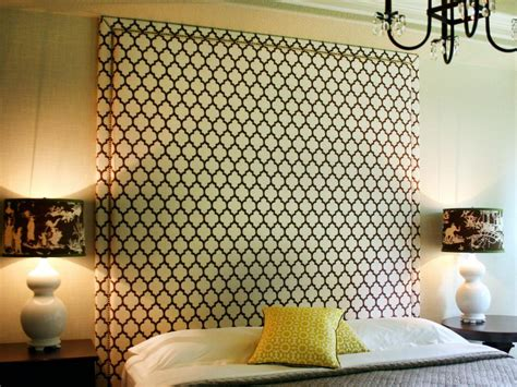 easy bedroom diy 6 simple diy headboards hgtv
