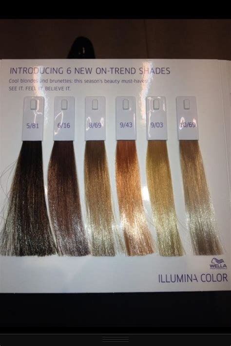 wella illumina color chart wella illumina hair colors hair to wear