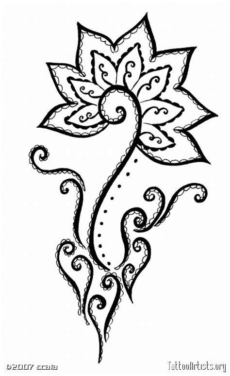 henna style tattoo artists uk celtic henna designs mehndi style flower