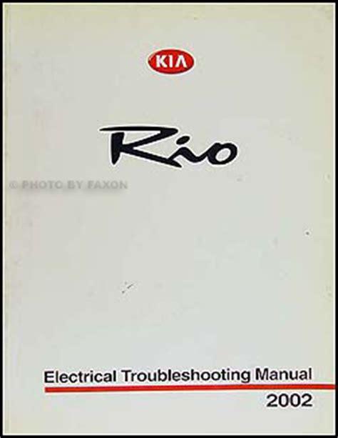 Kia Electrical Problems 2002 Kia Electrical Troubleshooting Manual 02 Wiring