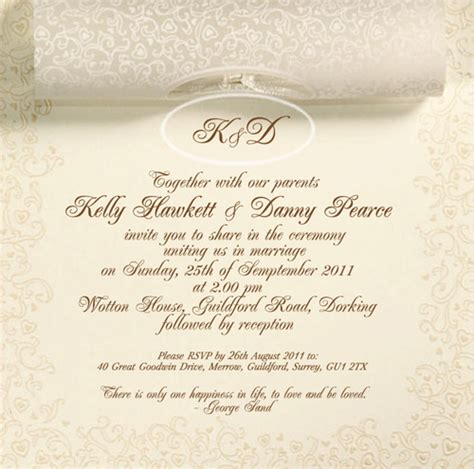 wording for wedding invites uk wedding invitation wording wedding invitation card