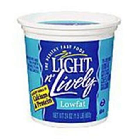 light n lively cottage cheese light n lively cottage cheese lowfat with calcium calories nutrition analysis more fooducate