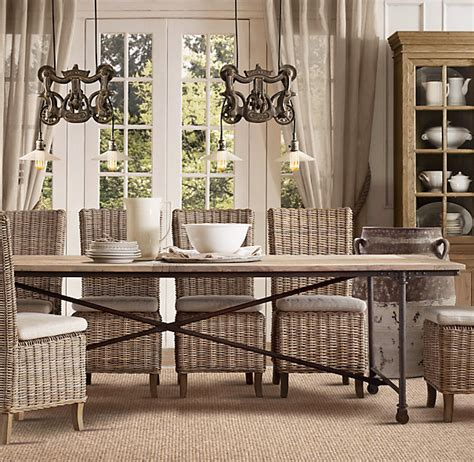 dining room table hardware kitchen bar stools with backs restoration hardware dining