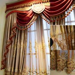 Luxury Curtains Valances Designs 2016 Fashion New Design Luxury Window Valance Curtain In Curtains From Home Kitchen