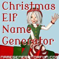 random christmas elf name generator quot pompom wintersnaps quot the name generator your name holidays