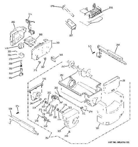 ge refrigerator water dispenser wiring diagram engine