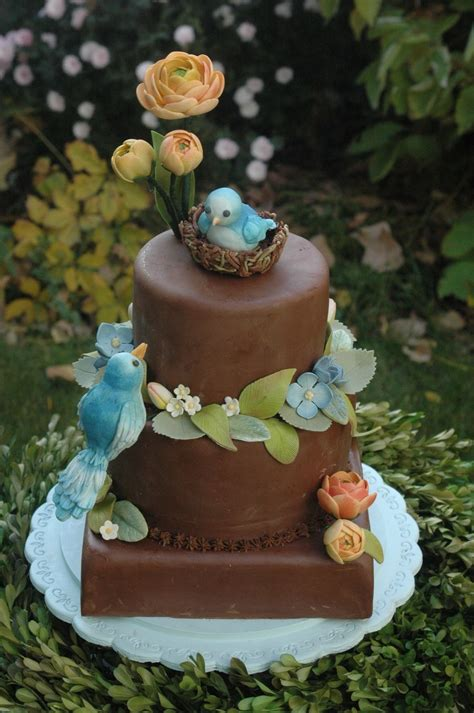 Bird Baby Shower Cakes by Blue Bird Baby Shower Cake Cakecentral