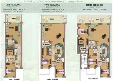 tree house condo floor plan branson lake front condos for sale
