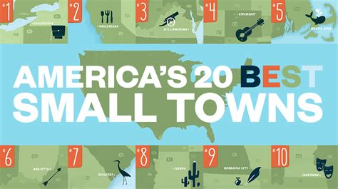 best small towns in america to live the 20 best small towns to visit in 2014 travel