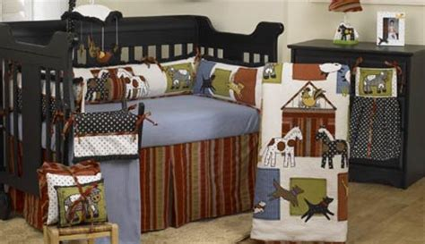 Horse Theme Baby Nursery Cowboy Themed Crib Bedding