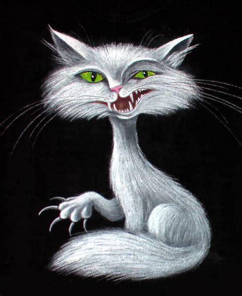 white pussy cat white cat paintings elena ivanova white pussy cat