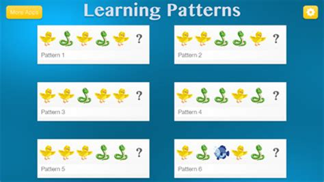 logic to pattern recognition tests app shopper learning patterns pattern logic game for