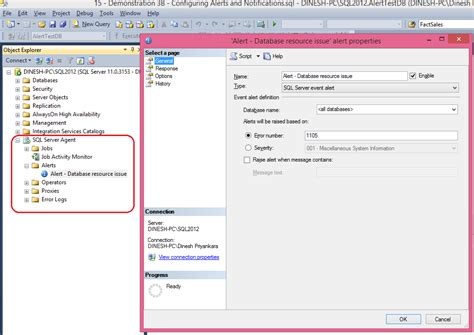 sql query notification tutorial dinesh s blog being compiled automated