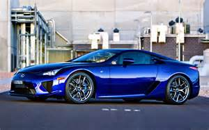 Lexus Lfa Blue Luxury World Where The Elite Browse