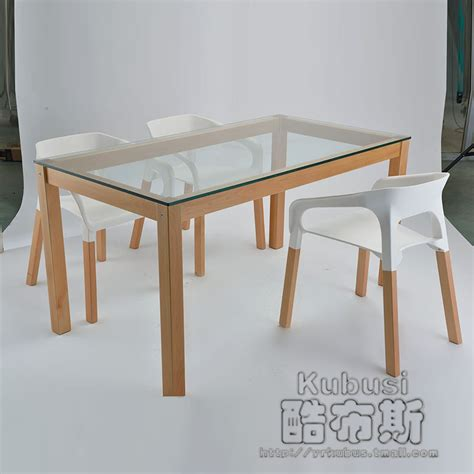 solid wood dining room table and chairs cool booth chair modern minimalist living room table solid