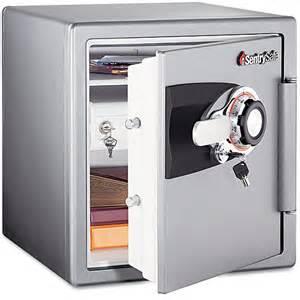 home safes walmart sentry safe 1 2 cu ft fireproof home safe with combination