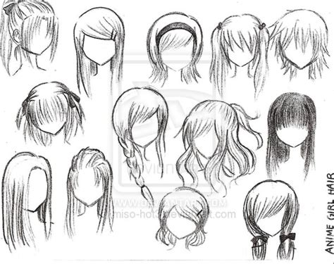 girl hairstyles deviantart anime girl hairstyles by miso hot3 by sparkles67 on deviantart
