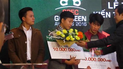 Goinggreen Awards Mba by Spec Go Green Awards 2016