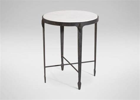 white marble and metal accent table white marble and black metal accent table