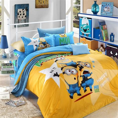 wallpaper dinding kamar minion 12 desain kamar tidur anak minions terbaru 2016 idaman