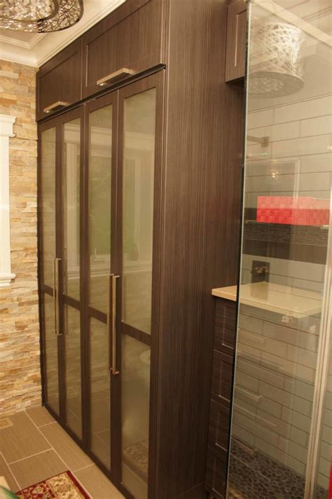 Armoire Glass Doors by Glass Doors Closet Les Armoires S 233 Guin Cabinets