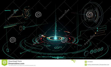 abstract interface pattern abstract interface stock vector image 54793557