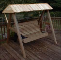 Porch Swings With Canopy by Red Cedar Wooden Canopy For Porch Swing Contemporary