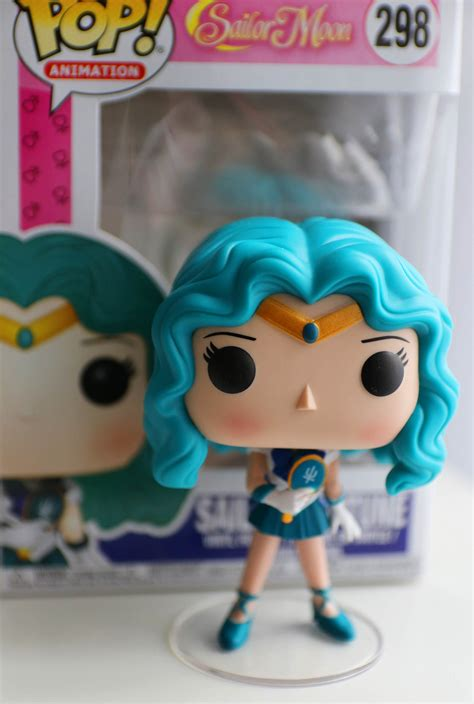 Funko Pop Sailor Moon With Bishoujo Senshi Sailor Moon funko pop sailor neptune komonogatari