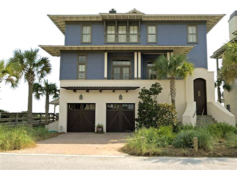 blue beach houses the beach blue house home bunch interior design ideas