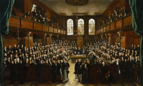 british house of commons npg 54 the house of commons 1833 large image