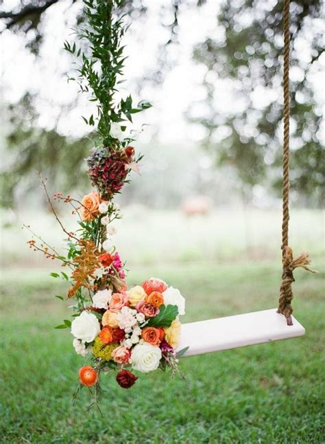 fotos swing flores na decora 231 227 o do casamento