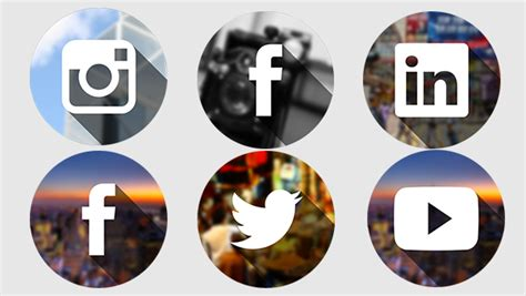 Tumblr Themes With Facebook And Twitter Buttons | 20 fresh new social media icon sets in 2014 365 web