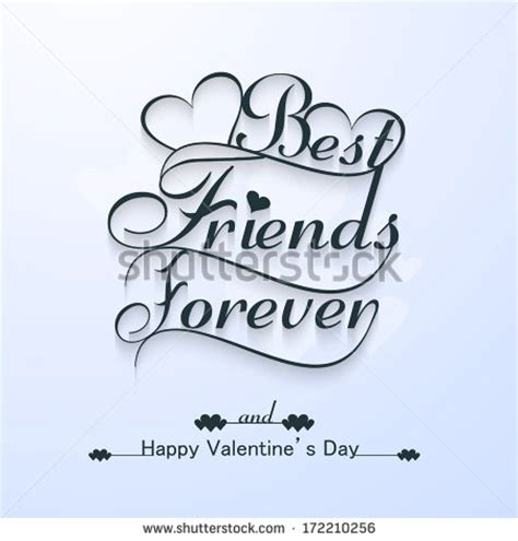 happy valentines day bff best friends forever stock photos images pictures