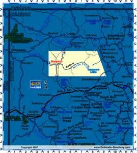 meeker colorado map meeker colorado map northwest co map colorado vacation