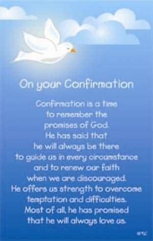 Confirmation Letter To Godchild Confirmation Blessings Confirmation Prayer Religious
