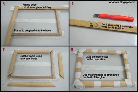 do it yourself picture frames how to make a photo frame at home indian woodworking diy