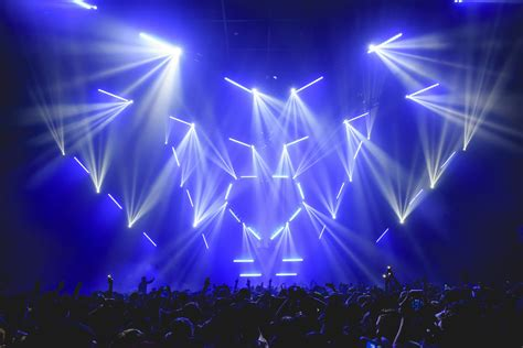 Elation Lighting by Sj Lighting Goes Elation For Spectacular Crush Concert Designs