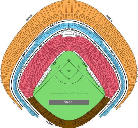 concert seats tokyo dome japan concert tickets