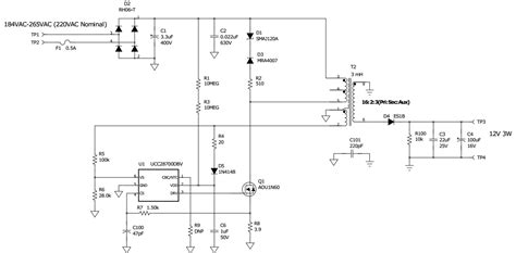 flyback diode power supply power tips low power bias supply linear buck or flyback power house blogs ti e2e