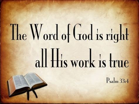 his lordship s true psalm 33 4 verse of the day