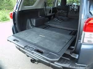 Toyota 4runner Sliding Rear Cargo Deck 4runner Sliding Cargo Autos Post