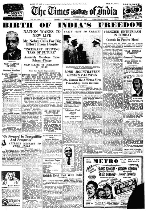 Here Are The Newspaper Headlines Of 10 Iconic Events In
