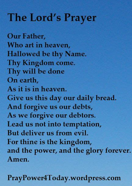 Thy Will Be Done Was And Is To Come Cd thy will be done on prayer